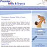 PremierWillsAndTrusts.co.uk: Website Portfolio Image